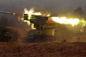 Quân đội Syria dội 'mưa' tên lửa Golan-1000, quét sạch phiến quân ở Latakia