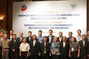 Nhiệm kỳ Chủ tịch ASEAN của Việt Nam 2020: Khuyến nghị về các ưu tiên