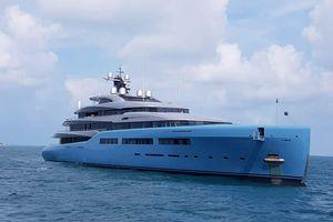 Siêu du thuyền 150 triệu USD của tỉ phú Anh ghé Phú Quốc để 'nghỉ ngơi'