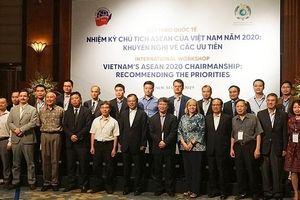 'Nhiệm kỳ Chủ tịch ASEAN của Việt Nam năm 2020: Khuyến nghị về các ưu tiên'