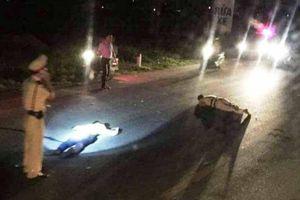 Một chiến sĩ CSGT Nghệ An bị trọng thương khi gặp 'quái xế'