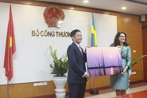Thụy Điển cam kết hỗ trợ Việt Nam phát triển các nguồn năng lượng tái tạo