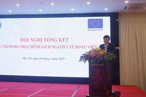 Liên minh châu Âu tài trợ 3.500 tỷ đồng cho ngành y tế Việt Nam