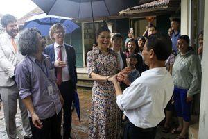 Công chúa kế vị Thụy Điển bình dị trong chuyến thăm Việt Nam