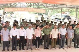 Dâng hương tri ân các anh hùng, liệt sỹ Ban An ninh Tây Ninh