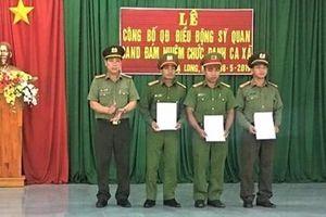 Lâm Đồng đưa Công an chính quy về xã