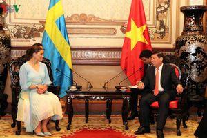 Chủ tịch TP.HCM tiếp Công chúa kế vị Hoàng gia Thụy Điển