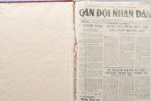 Nghề báo giữa chiến trường Điện Biên Phủ