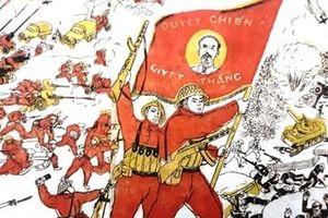 Những bức tranh cổ động vô giá tại mặt trận Điện Biên Phủ