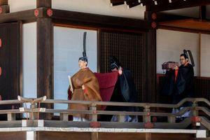 Nhật hoàng Naruhito thực hiện nghi lễ đầu tiên sau khi đăng quang