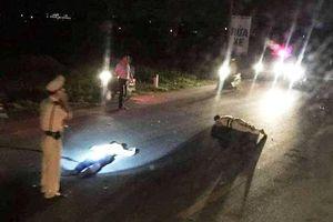 Thanh niên vi phạm lao xe vào Trung tá CSGT