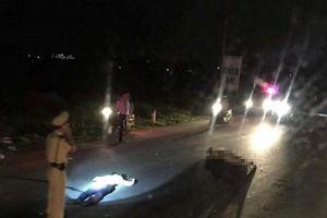 Trung tá CSGT bị thương khi bị xe vi phạm tông trúng người
