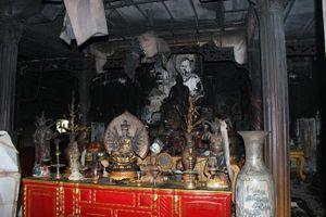 Hỏa hoạn cháy rụi một ngôi chùa tại Phú Yên