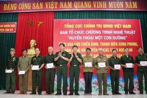 Đoàn công tác Tổng cục Chính trị tổ chức nhiều hoạt động tri ân ở Nghệ An