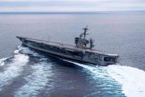 Hé lộ nguyên nhân thực sự khiến Mỹ đưa mẫu hạm tới vịnh Ba Tư