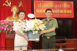 Công an Thanh Hóa công bố Trưởng phòng Tham mưu kiêm người phát ngôn