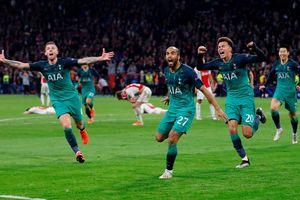 Ngược dòng hạ Ajax, Tottenham vào chung kết Champions League
