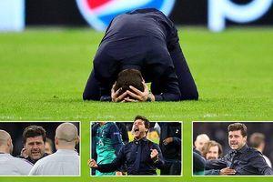 HLV Pochettino bật khóc như... đứa trẻ khi Tottenham loại Ajax
