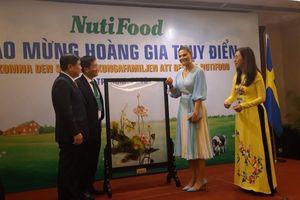 Công chúa Thụy Điển gặp gỡ Công ty NutiFood