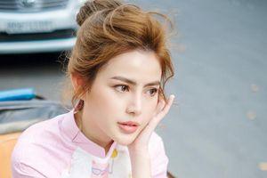 Con gái xinh đẹp của diễn viên Hữu Tiến thi hoa hậu