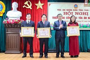 TAND hai cấp tỉnh Thái Bình: Tăng cường công tác kiểm tra nghiệp vụ