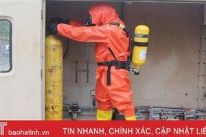 Huấn luyện kỹ năng lao động an toàn cho công nhân Hà Tĩnh