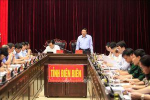 Đoàn Tiểu ban Văn kiện Đại hội XIII của Đảng làm việc tại tỉnh Điện Biên