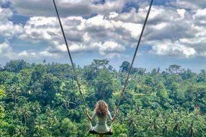 Khám phá 'xích đu tử thần' vạn người mê tại Bali