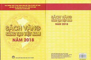 Giới thiệu cá nhân, tập thể đạt giải thưởng quốc tế 2018 để công bố trong Sách vàng Sáng tạo Việt Nam 2019
