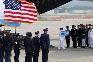 Mỹ dừng nỗ lực hồi hương hài cốt quân nhân mất tích tại Triều Tiên