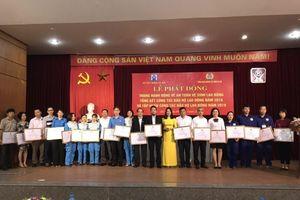Công đoàn ngành Xây dựng Hà Nội phát động Tháng ATVSLĐ năm 2019