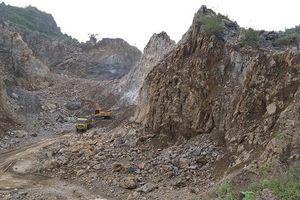 Nghệ An: Nhiều doanh nghiệp sai phạm trong khai thác đá xây dựng