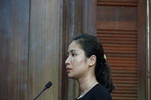 Bị bắt khi mới sinh mổ 21 ngày, nữ đồng bọn của Văn Kính Dương xin HĐXX xem xét để được trở về chăm 3 con nhỏ và cha mẹ già