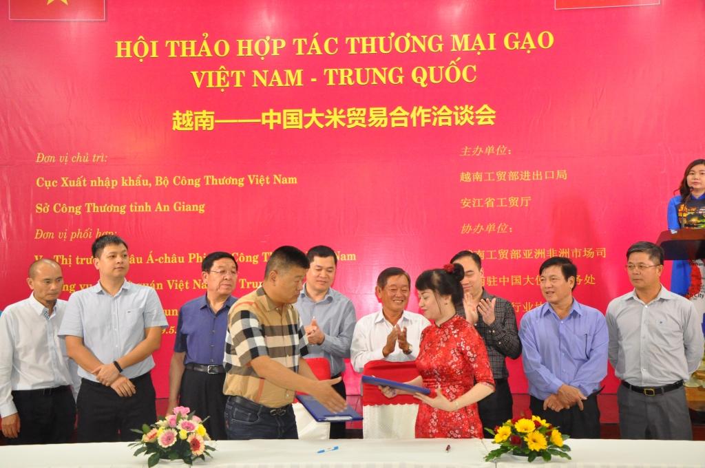 Tìm cơ hội, tăng hợp tác để đưa gạo vào thị trường Trung Quốc