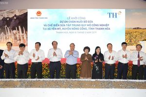 Thủ tướng dự khởi công dự án nông nghiệp công nghệ cao tổng vốn trên 3.800 tỷ đồng