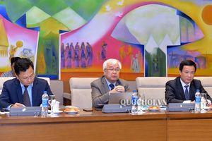Chủ nhiệm Ủy ban văn hóa, Giáo dục, Thanh niên, Thiếu Niên và Nhi đồng tiếp Đoàn Ngân hàng Thế giới