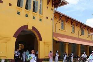 Trường Châu Văn Liêm hơn 100 tuổi được trùng tu