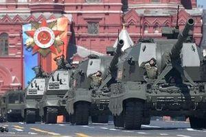 Lễ duyệt binh tại Quảng trường Đỏ mừng Ngày Chiến thắng