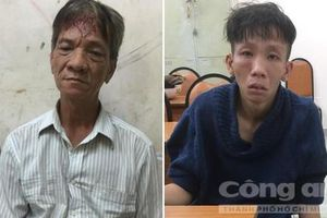 Bắt nóng hai tên cướp dùng dao bấm chống trả ở Sài Gòn