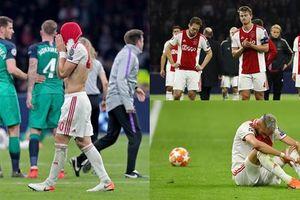 Cầu thủ Ajax chết lặng khi mất vé chung kết chỉ trong 'chớp mắt'