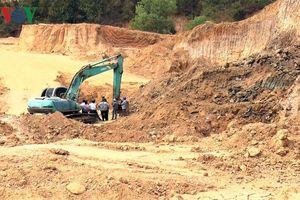 Kon Tum tấn công trấn áp tội phạm trong hoạt động khai thác cát sỏi