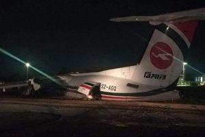 Máy bay Bangladesh trượt khỏi đường băng ở Myanmar, gãy thành 3 phần
