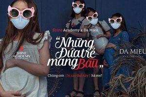 MC Phan Anh: Bộ ảnh 'Những đứa trẻ mang bầu' mắc lỗi rất sơ đẳng