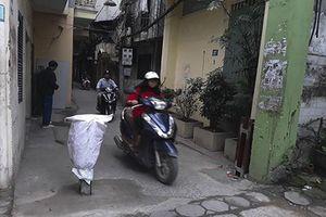 Hà Nội: Người dân đã tháo dỡ barie tự ý lắp đặt cản trở giao thông