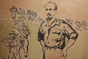 Những bức tranh cổ động tuyệt đẹp vẽ Chủ tịch Hồ Chí Minh