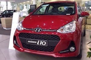 Hyundai i10 vươn lên dẫn đầu xe 'hot' nhất