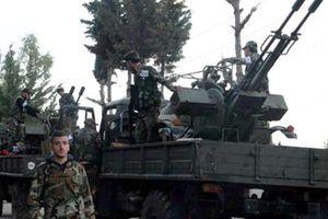 Quân đội Syria tấn công thành trì chính của phe đối lập ở Hama