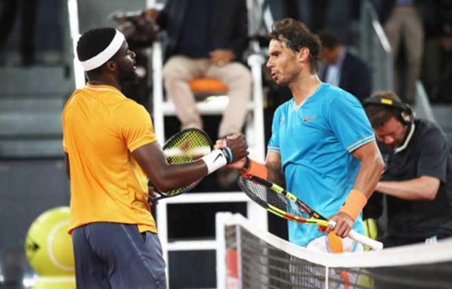 Vòng 3 Madrid Open: Nadal thắng dễ Tiafoe