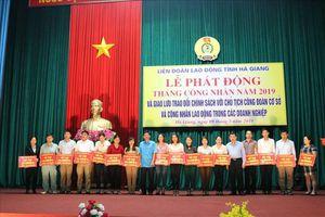 Giao lưu đối thoại chính sách tại lễ Phát động Tháng Công nhân