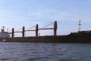 Mỹ lần đầu tiên bắt tàu chở hàng lớn của Triều Tiên